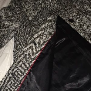 Forever 21 Jackets & Coats - Black and white texture babydoll style jacket/coat